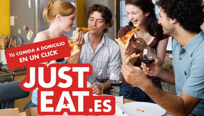 Just Eat, campaña multimillonaria en España