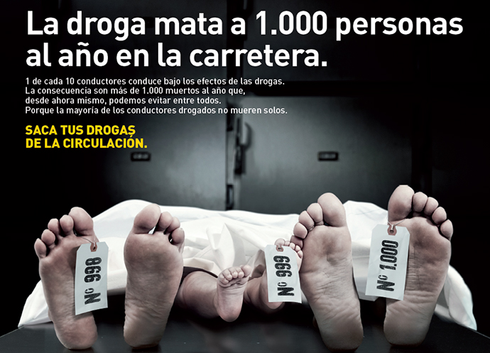 'Saca tus drogas de la circulación', nueva campaña de la DGT