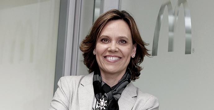 Patricia Abril promocionada a la cúpula europea de McDonald's