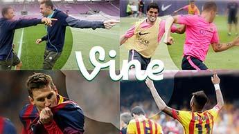 FC Barcelona estrena su cuenta oficial en Vine