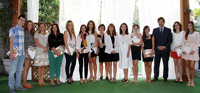 Las ganadora de las Becas Glamour.