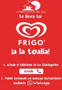 Frigo utiliza WhatsApp en su última acción publicitaria