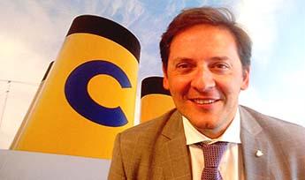 Gabriele Baroni, director de comunicación de Costa Crociere