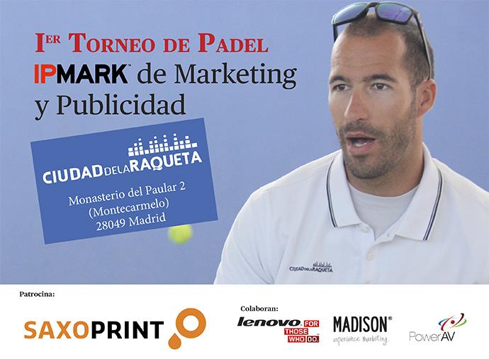 IPMARK convoca el Torneo de Padel de Marketing y Publicidad