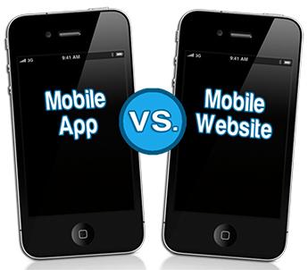 Mobile app vs Mobile web