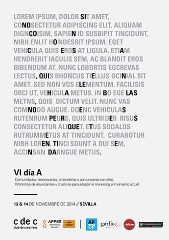 Sevilla acoge el Día A, el encuentro entre anunciantes y creativos