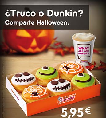 Dunkin'Coffee Halloween Special Edition