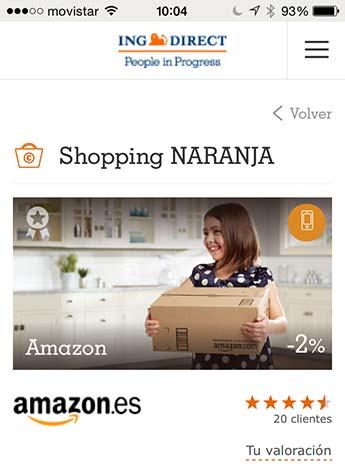 ING Direct lanza Shopping Naranja