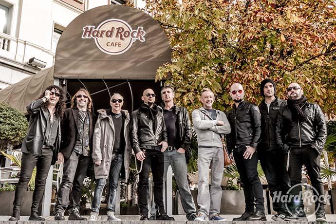 Hard Rock Café Madrid inauguró su Paseo de la Música