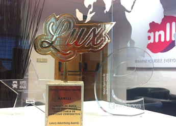 Kanlli, premio a la Creatividad Publicitaria en los Luxury Advertising Awards