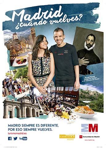 Madrid quiere más turismo nacional