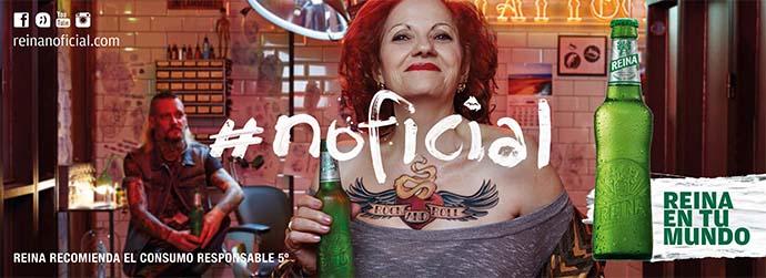 Reina, la cerveza #noficial de los canarios