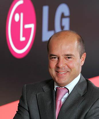 Jaime de Jaraíz, presidente de LG España
