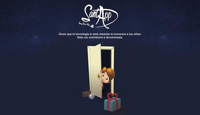 SantApp, la aplicación de Papá Noel y los Reyes Magos
