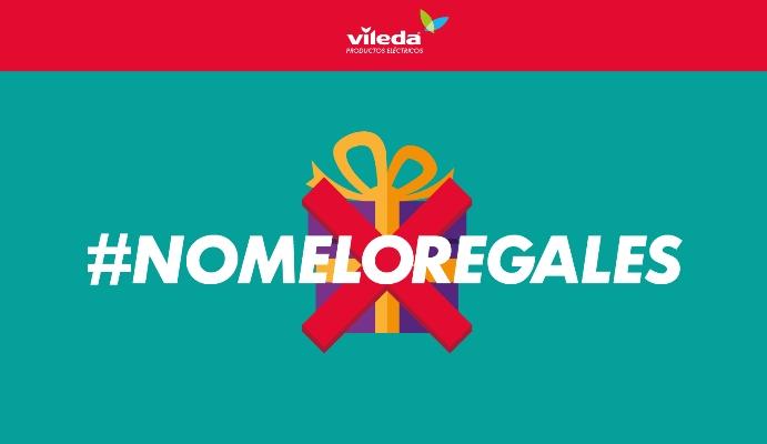 Campaña humorística de Vileda contra los regalos prácticos en Navidad