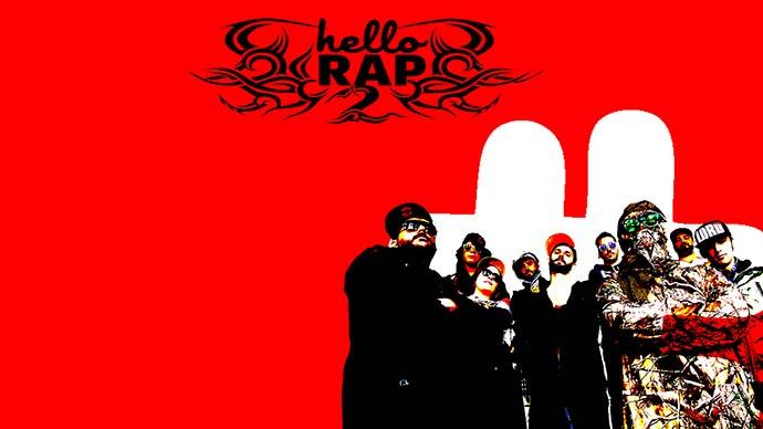 Hello Rap, una  felicitación de Navidad digitalmente diferente