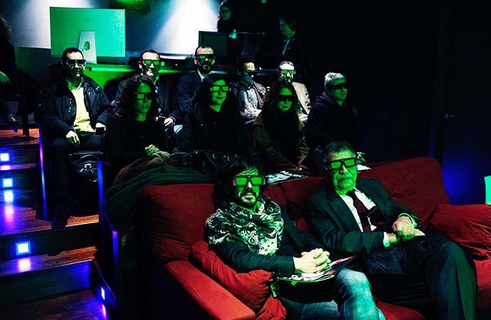 Un momento del encuentro sobre vídeo publicitario organizado por IPMARK y Lapospo.