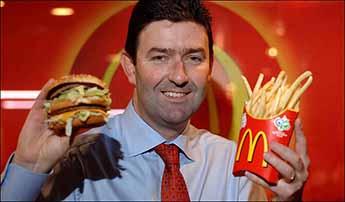 McDonald's nombra a Steve Easterbrook nuevo CEO