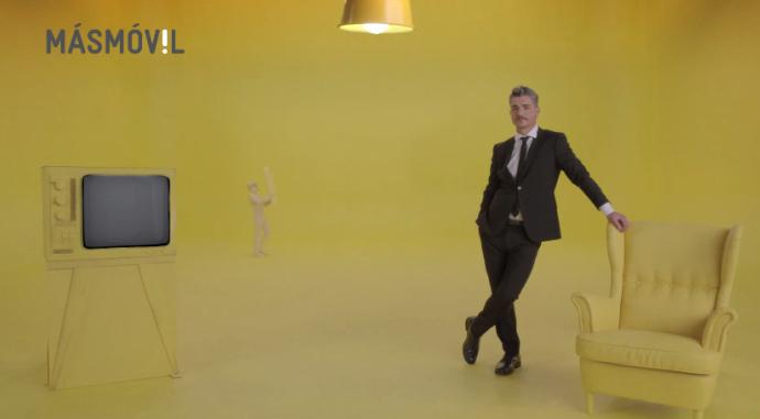 Másmóvil vuelve a anunciarse en TV cinco años después
