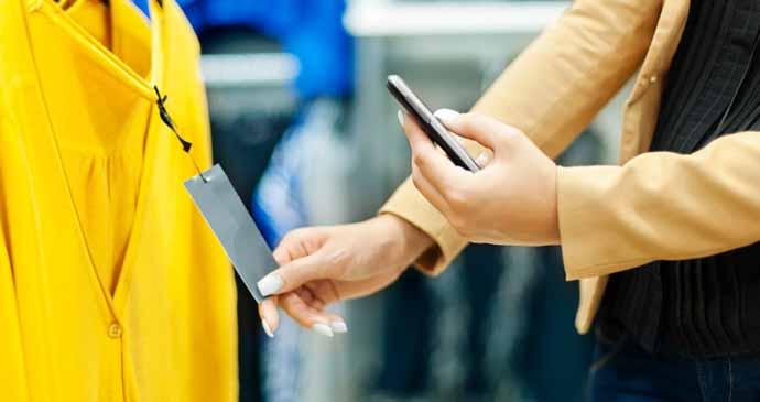 Mobile Shopping Behaviour. De tiendas con el móvil