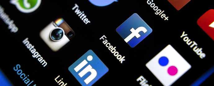 El mapa español de las redes sociales