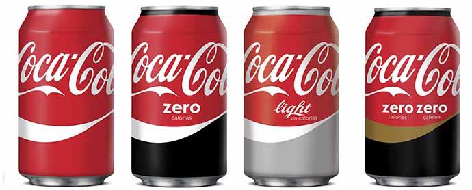 El 58% de las ventas de Coca-Cola en España corresponden a bebidas bajas en o sin calorías