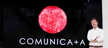 Javier Alvira,  director de servicios al cliente de Comunica + A