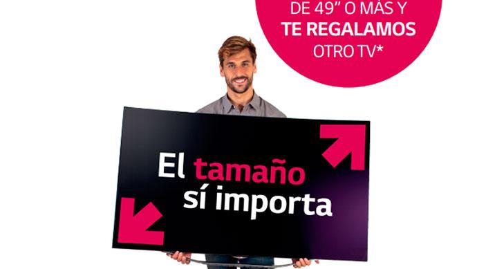 LG, Fernando Llorente, El tamaño si importa