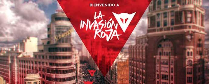 Manifiesto crea 'La Invasión Roja' para Dainese