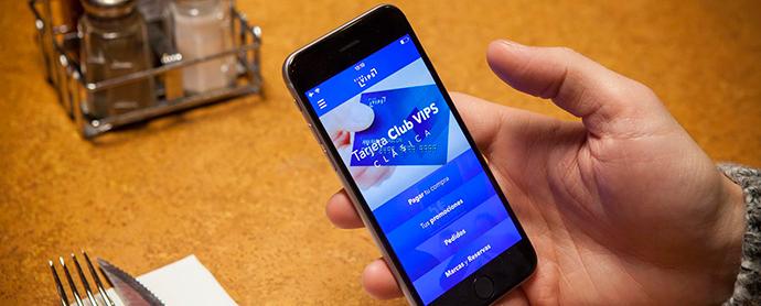 Grupo VIPS apuesta por los dispositivos móviles