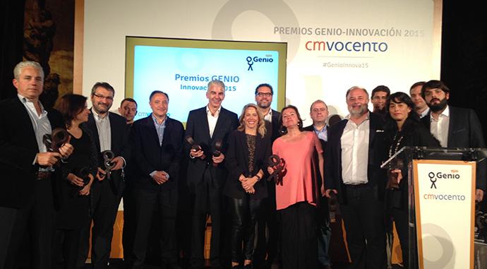 Los ganadores de la octava edición de los Premios Genio.