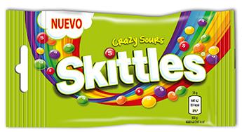 Wrigley lanza los caramelos Skittles en España