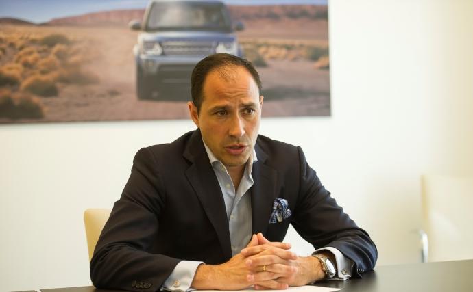 Óscar Oñate, head of marketing de Jaguar Land Rover España y Portugal.