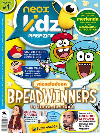 Neox Kidz Magazine, nueva cabecera de Grupo Zeta