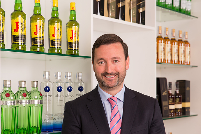 Alberto Ibeas, nuevo director general de Diageo para España y Portugal