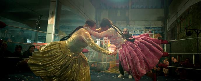 Las Cholitas Luchadoras de Campofrío