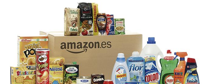 Amazon abre su tienda de Alimentación y Limpieza del Hogar