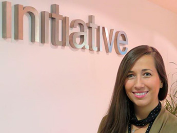 Andrea Vicente, business services director de Initiative