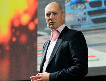 Dominik Hoberg, director global de comunicación  de Volkswagen
