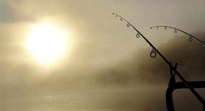 La paciencia del pescador