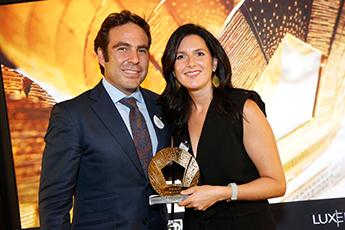 Delamata Design  gana un oro en los Pentawards 2015