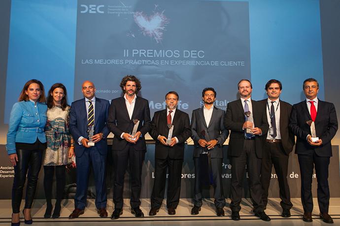 Segunda edición de los Premios DEC