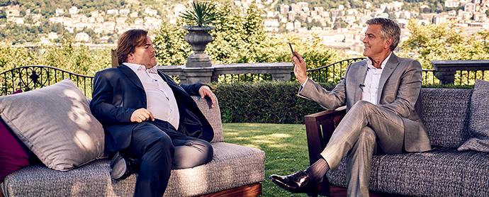 George Clooney  y Jack Black en la nueva campaña de Nespresso