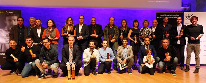 Barcelona acogió la entrega de los Premios Lux 2015