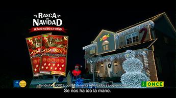JWT, nueva campaña para el Rasca de Navidad de la ONCE