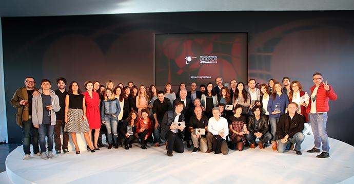 Los ganadores de la 13 edición del Premio JCDecaux