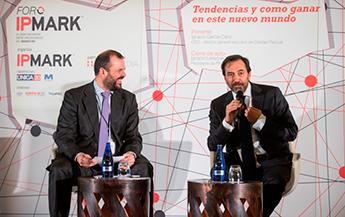 Jaime de Haro e Ignacio García-Cano en Foro IPMARK