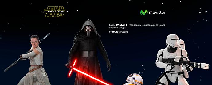 Star Wars: El despertar de la fuerza campañas lanzamiento
