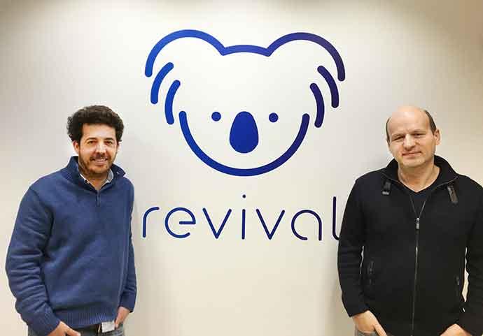 Los creadores de la red social Revival