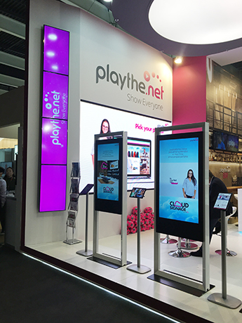 Playthe.net presenta Cloud Signage
